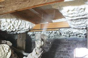 床下の断熱リフォームの写真